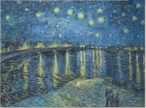Papier do Decoupage Van Gogh Starry Night Over The Rhone